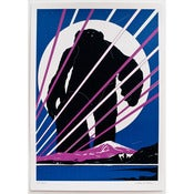 Image of 'Yeti Over Mount Fuji XIII (Moonlit)'