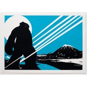 Image of 'Yeti Over Mount Fuji II (Shooting Star)' LAST FEW REMAINING