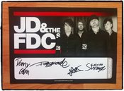 Image of JD & the FDCs - Signed Poster