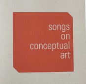 Image of SONGS ON CONCEPTUAL ART