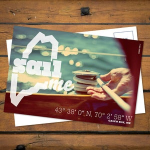 Image of SailME Postcard