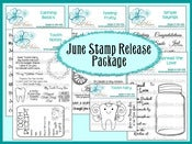Image of June 2012 Stamp Release Package