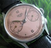 Image of VINTAGE HEUER CHRONO STEEL CLASSIC - SOLD!