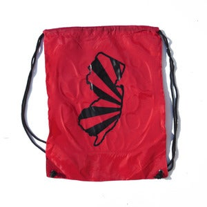 Image of Red Cinch Bag