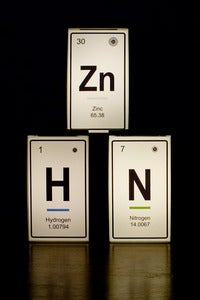 Image of LED Light Boxes - Periodic Table Element - Recycled Vintage Tin Drawers