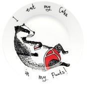 Image of I Eat My Cake in My Pants Side plate
