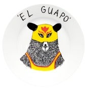 Image of 'El Guapo' Side Plate