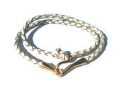Image of Knotted Leather Bracelet