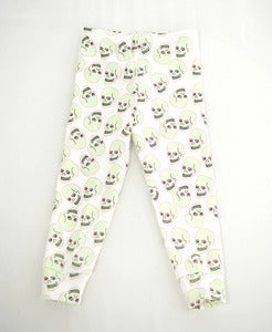 Image of Love Skull Legging White