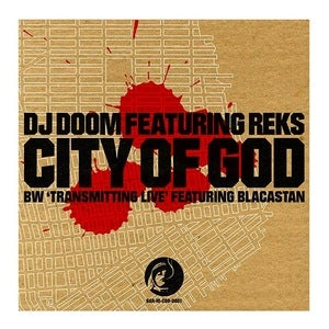 Image of DJ Doom - City Of God feat. Reks / Transmitting Live feat. Blacastan // 10""