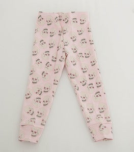 Image of Love Skull Legging Pink
