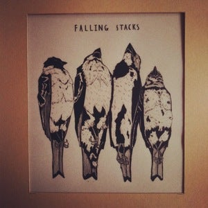 Image of Howling Owl 10 - Falling Stacks EP - LAST FEW 2ND PRESSINGS -