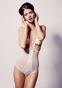 Image of Nicole High Waist Harness Briefs