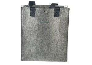 Image of nat-2 X Wolpertinger Shop Bag grey felt