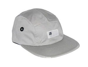 Image of Matrix Logo Camp Hat In Grey By PUREFILTH