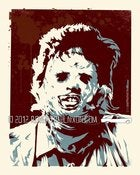 Image of Homage Print: Leatherface
