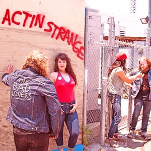 "Image of The Bad Lovers ""Actin' Strange"" Lp"