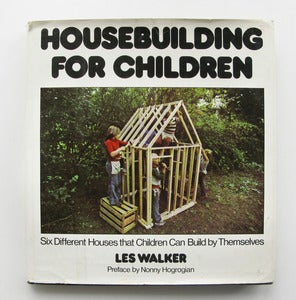 Image of Vintage 1970's Housebuilding for Children Book