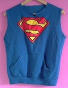 Image of Superman sleeveless sweatshirt