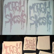 Image of MORBID SIKOSIS LOGO Decals