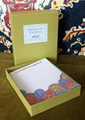 Image of  Personalized Paisley Notes-Boxed set of 8