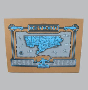 Image of detroit map