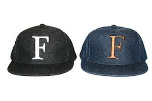 "Image of FASTLANE DENIM 5 PANEL SNAPBACK ""De Nîmes"""