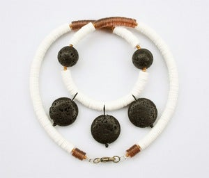 "Image of ""1909"" Lava Necklace"