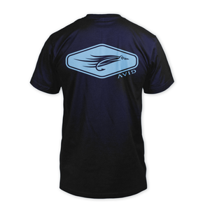 Image of Fly Fishing T-Shirt - Navy