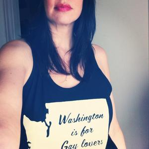 Image of 'Washington is for Gay Lovers' Tank Top