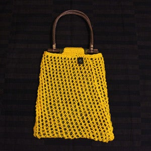 Image of ✩ crochet BAG ✩ yellow