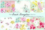 Image of The Beach Bungalow collection Original Art paper pack with trims
