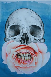 Image of JEFF PROCTOR - Blue Skull