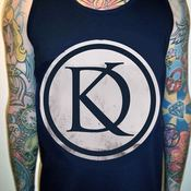 Image of Navy Logo Vest/Tank 