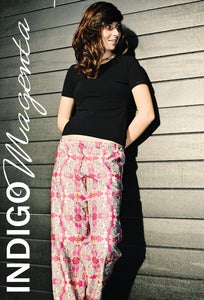 Image of Ladies Wide Leg Pants