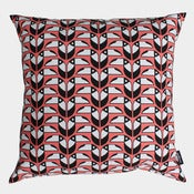 Image of Toucans cushion - coral