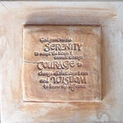Image of Original Art - Serenity Prayer Plaque