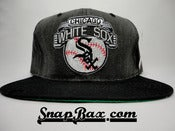 Image of Vintage Deadstock Starter Chicago Whitesox Acid Wash Snapback cap