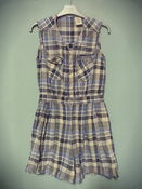 Image of VTG Plaid Playsuit