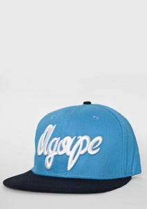 Image of &quot;Fresh Script&quot; Blue/Navy Snapback