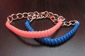 Image of Plastic Macrame Bracelet