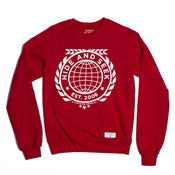 Image of Red Logo Crew Neck