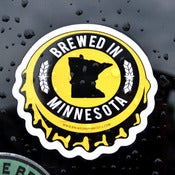 Image of BREWED IN MINNESOTA - STICKER PACK