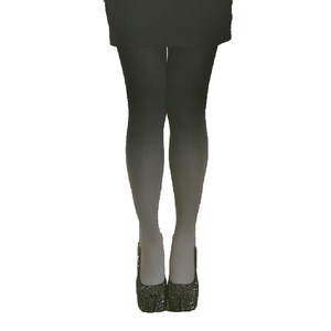 Image of Black Grey White Wash Out Tie Dye Fade Gradient Stocking Tights