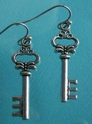 Image of Key Earrings