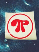 Image of Pachangacha- Pi Logo Sticker