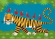 Tiger Transportation - Limited Edition Print