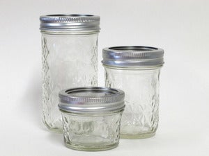 Image of Quilted Crystal Jelly Jar