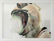 Image of DJ Food C-Type Metallic Print (framed), 'Helmet'