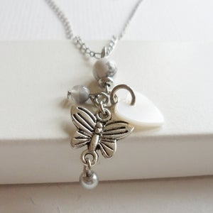 Image of Silver Enchantment Charm Necklace